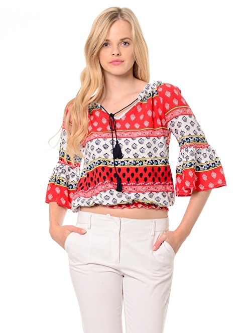 Dewberry Bluz Kırmızı